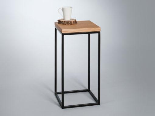 Tisch Top Holz Serie Berg Farbe Schwarz
