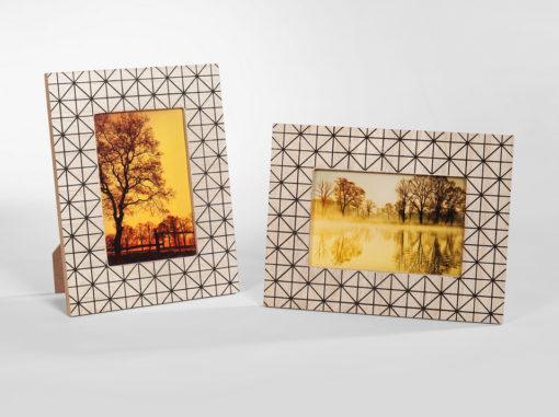 Fotorahmen Dreieck Serie Art Kunst