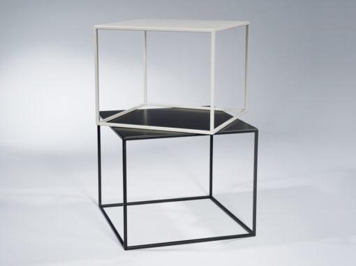 Tische Compact Serie Garage Schwarz/grau