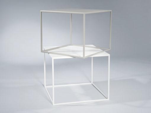 Tische Compact Serie Garage Weiß/grau