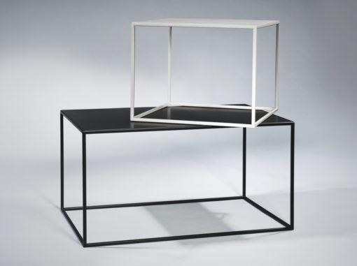 Tische Compact Plus Serie Garage Schwarz/grau