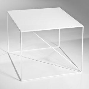 Stolik Euklides Seria Geometric Color White
