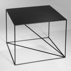 Stolik Euklides Seria Geometric Color Black