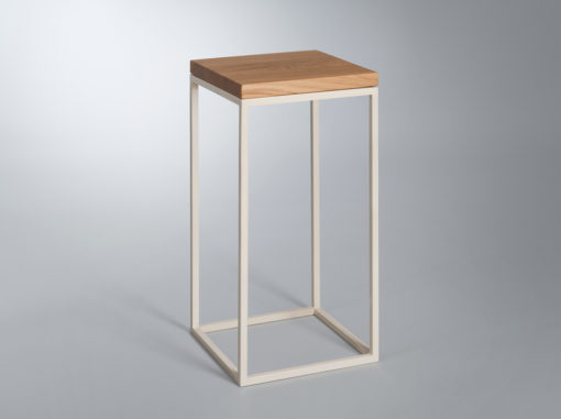 Top Wood Table Mountain Line Cream Colour