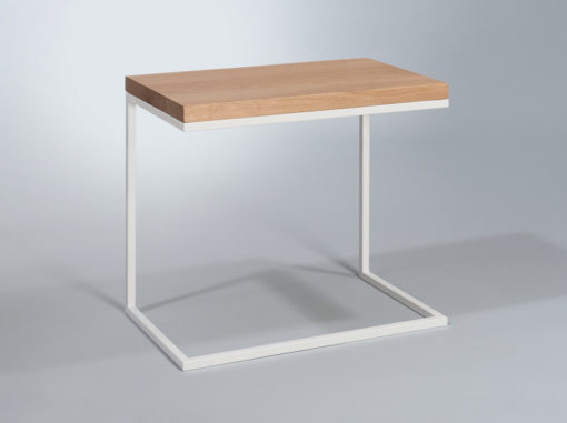 Moon Table Space Line White Colour