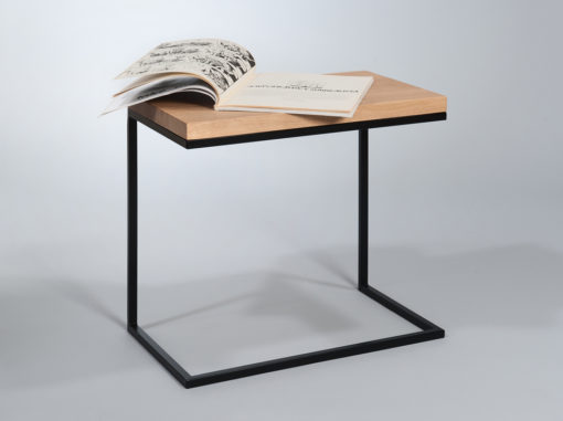 Moon Table Space Line Black Colour