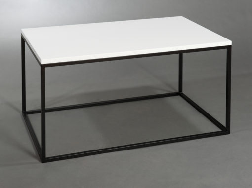 Zebra Coffee Table ZOO Line White/black