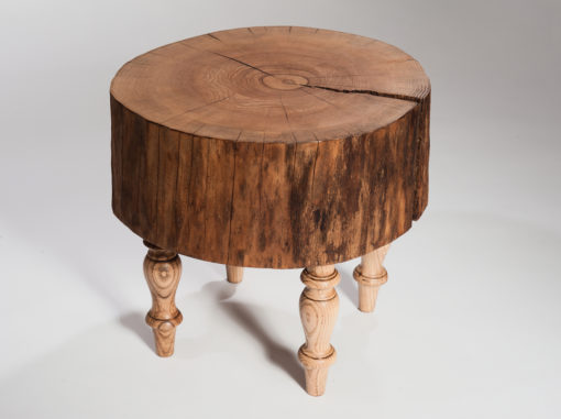 Bergen Side Table Forest Line