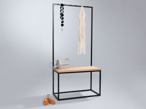 Concierge V1 Coat Rack Black Colour