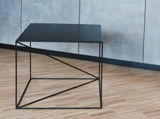 Euklides Table Geometric Line Black Colour