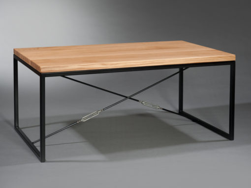 Spider Coffee Table Industrial Line Black Colour